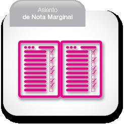 Asiento de Nota Marginal