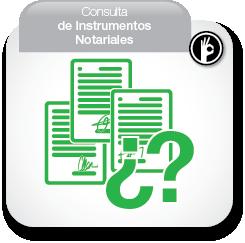 Consulta de Instrumentos Notariales