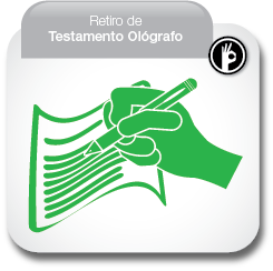 Retiro de Testamento Ológrafo